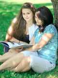 Beaux mère et descendant Images libres de droits