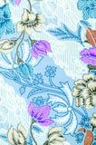 Beaux modèles roses de batik Photos libres de droits