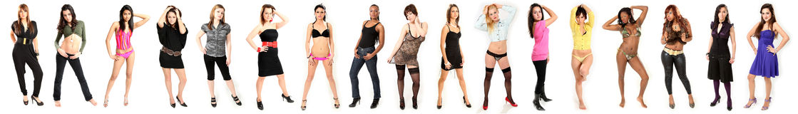 Beaux modèles de mode de jeunes femmes Image libre de droits