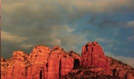 Beaux Mountain View de l'Arizona Images libres de droits