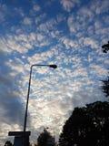 Beaux nuages Images stock