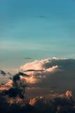 Beaux nuages Photo stock