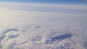 Beaux nuages et ciel et horizont Photographie stock libre de droits