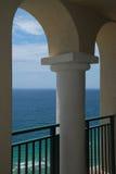 Beaux océan et voûtes Images stock