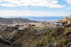 Beaux paysages de Barranco del Infierno dans Ténérife Photos libres de droits