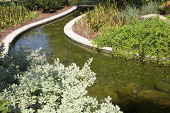 Beaux paysages de Dallas Arboretum photos stock