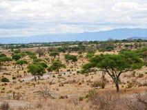 Beaux paysages de l'Afrique photo stock