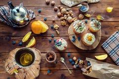 Beaux petits gâteaux Image libre de droits