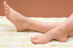 Beaux pieds photographie stock libre de droits