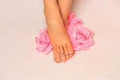 Beaux pieds Photos stock