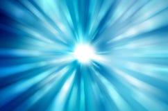 Beaux rayons de lumière bleus illustration de vecteur