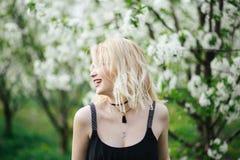 Beaux rires de fille Photographie stock libre de droits