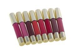 Beaux rouges à lèvres réglés Image stock