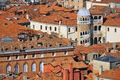 Beaux toits Venise Image stock