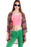 Beaux vêtements colorés à la mode Images stock