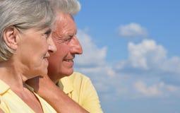 Beaux vieux couples Photo libre de droits