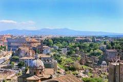 Beaux vieux hublots à Rome (Italie) photos libres de droits