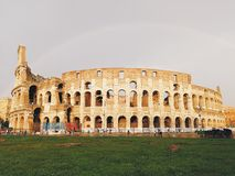 Beaux vieux hublots ? Rome (Italie) photos stock
