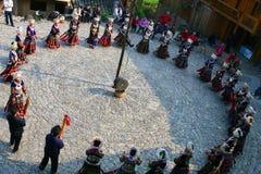 Beaux villages initiaux dans Guizhou, Chine Photographie stock libre de droits
