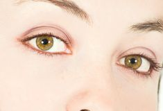 Beaux yeux Photographie stock