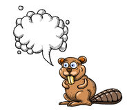 Beaver-1000 Illustrazione di Stock