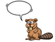 Beaver-1000 Illustrazione Vettoriale