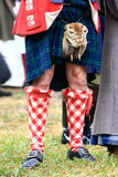 Beaver boy. At a party in the Netherlands we found that one of the Scottish guests did not only wear his scottish outfit but also a beaver Stock Image
