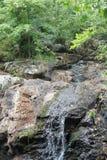 Beaver Brook Falls in Belmont, MA stock photo