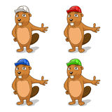 Beaver builder vector illustration Stock Photography