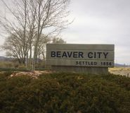 Beaver City Royalty Free Stock Image