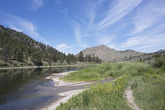 Beaver Creek Montana imagem de stock royalty free