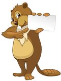 Beaver CREES Stock Image