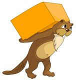 Beaver CREES vector illustration