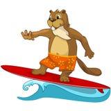 Beaver CREES vector illustration