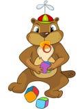 Beaver CREES Royalty Free Stock Photo