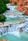 Beaver Falls, Supai, Arizona USA Royalty Free Stock Image