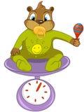 Beaver i CREES Royalty Illustrazione gratis