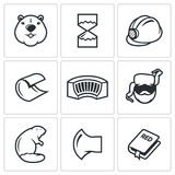 Beaver  icon  Stock Image