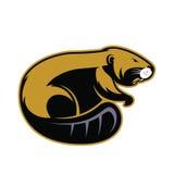 Beaver mascot 2 Stock Photography