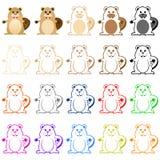 Beaver Mascot Stock Images