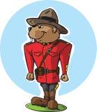 Beaver Mountie Stock Image