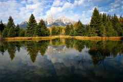 Beaver Pond Schwabacher Landing 3 royalty free stock image