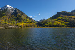 Beaver See nahe Stadt von Marmor-Colorado Stockfoto