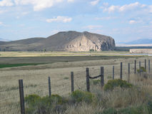 Beaverhead Rock, Montana. Montana's Beaverhead Rock near Dillon is historically linked with the Lewis and Clark Expedition. When Sacajawea spotted the formation stock images