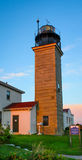 Beavertail Lighthouse Royalty Free Stock Photos