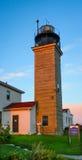 Beavertail Lighthouse Royalty Free Stock Photos