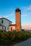Beavertail Lighthouse Stock Photo