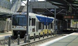 beaverton ανώτατο τραίνο του Όρεγ&ka Στοκ Εικόνες