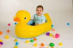Bebé 2 de Pascua Fotos de archivo libres de regalías
