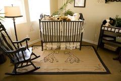 Bebé 2489 del dormitorio Fotos de archivo